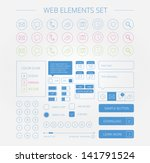 clean web elements set
