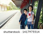 back to school.education.two... | Shutterstock . vector #1417975514