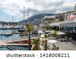 la condamine  monaco   june 04  ... | Shutterstock . vector #1418008211
