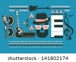 Blues Music Artwork For Poster