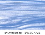 photo of blue shadows on white... | Shutterstock . vector #141807721