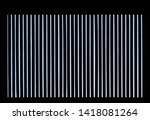 white grid pattern with black... | Shutterstock . vector #1418081264