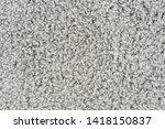 white natural fleece carpet... | Shutterstock . vector #1418150837