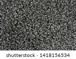black natural fleece carpet... | Shutterstock . vector #1418156534