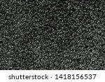 black natural fleece carpet... | Shutterstock . vector #1418156537
