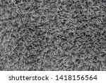 black natural fleece carpet... | Shutterstock . vector #1418156564