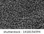 black natural fleece carpet... | Shutterstock . vector #1418156594