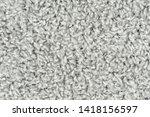white natural fleece carpet... | Shutterstock . vector #1418156597