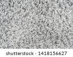 white natural fleece carpet... | Shutterstock . vector #1418156627