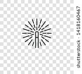 magic wand icon from magic...   Shutterstock .eps vector #1418160467