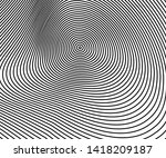 abstract circle pattern black... | Shutterstock .eps vector #1418209187