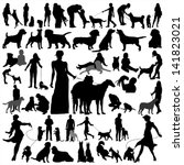high quality vector silhouettes ...