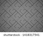 abstract geometric pattern with ... | Shutterstock .eps vector #1418317541