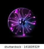 Abstract Plasma Sphere....