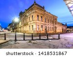 Preston Town Hall At Blue Hour...