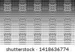 black and white relief convex...   Shutterstock . vector #1418636774