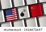 Usa And China Trade War   Us...