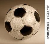 Used Classic Soccer Ball. Sepi...