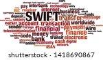 swift word cloud concept.... | Shutterstock .eps vector #1418690867