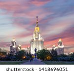 moscow  russia   may 17  2019 ... | Shutterstock . vector #1418696051