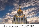 moscow  russia   may 17  2019 ... | Shutterstock . vector #1418698061