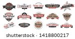 old badges. vintage sign  retro ... | Shutterstock .eps vector #1418800217