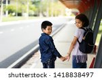 back to school.education.two... | Shutterstock . vector #1418838497