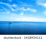 Landscape With River And Blue...