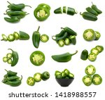 A Green Jalapeno Peppers...