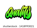 high quality  best quality ... | Shutterstock .eps vector #1418993021