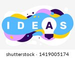 vector creative illustration of ... | Shutterstock .eps vector #1419005174