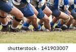 tug of war competition. | Shutterstock . vector #141903007