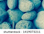 abstract smooth round pebbles... | Shutterstock . vector #1419073211