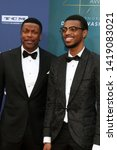 Small photo of LOS ANGELES - JUN 6: Chris Tucker, Destin Christopher Tucker at the AFI Honors Denzel Washington at the Dolby Theater on June 6, 2019 in Los Angeles, CA