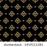 wallpaper in the style of... | Shutterstock .eps vector #1419111281