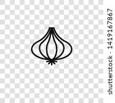 onion icon from  collection for ... | Shutterstock .eps vector #1419167867