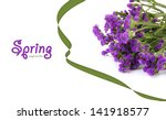 flowers isolated on white | Shutterstock . vector #141918577