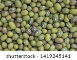 close up of mung beans... | Shutterstock . vector #1419245141