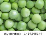 close up of green uncooked peas ... | Shutterstock . vector #1419245144