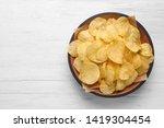 Delicious Crispy Potato Chips...