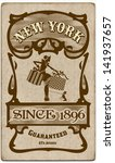 old retro card   Shutterstock .eps vector #141937657