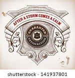 vector. old design | Shutterstock .eps vector #141937801