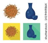 vector illustration of crop and ... | Shutterstock .eps vector #1419449864