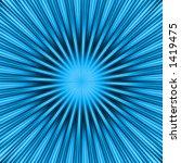 a blue burst   explosion  ... | Shutterstock . vector #1419475