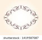 vector retro frames .vector... | Shutterstock .eps vector #1419587087