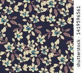 fashionable pattern in small... | Shutterstock .eps vector #1419596561