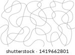 simple seamless abstract worms... | Shutterstock . vector #1419662801