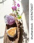 small flower arrangement and... | Shutterstock . vector #1419670607