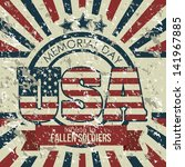illustration patriot united... | Shutterstock .eps vector #141967885