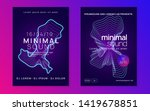 trance event. modern... | Shutterstock .eps vector #1419678851